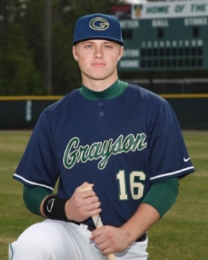 Grayson HIgh School CF Austin Meadows selected by the Pirates with the ninth overall pick in the MLB amateur draft.